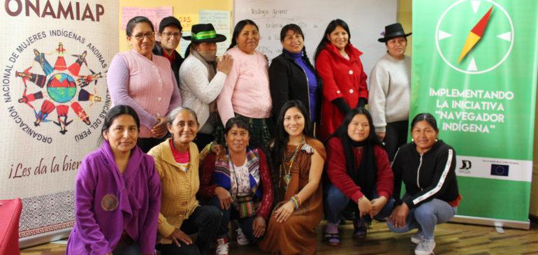 """Realizamos con éxito II Taller """"Agenda 2030 y los ODS desde la visión de las mujeres indígenas"""""""