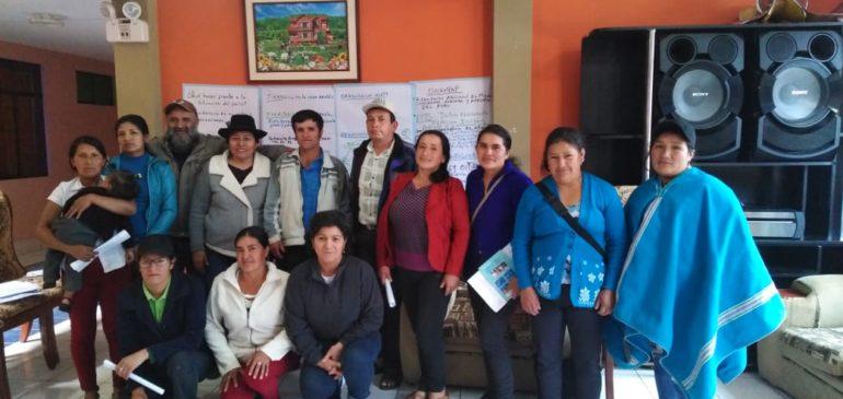 Organizamos Diálogos Políticos Interculturales en regiones