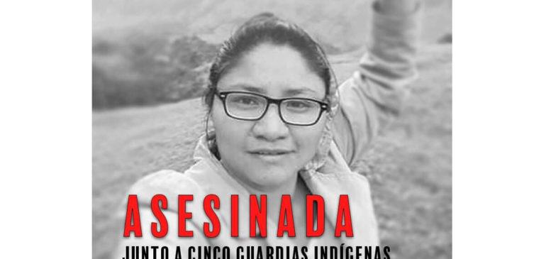 ¡Alto al asesinato de indígenas en Colombia!