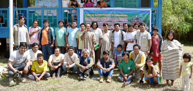 Comunidades Nativas de Madre de Dios fortalecidas para la defensa de los bosques