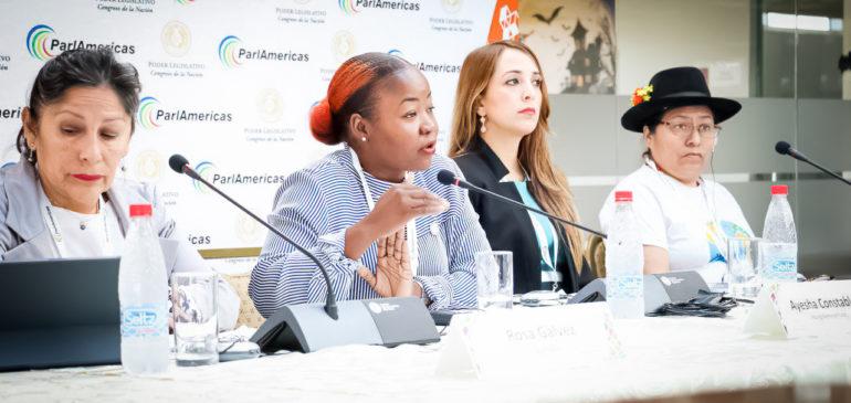 ONAMIAP participa en Asamblea Plenaria de ParlAméricas