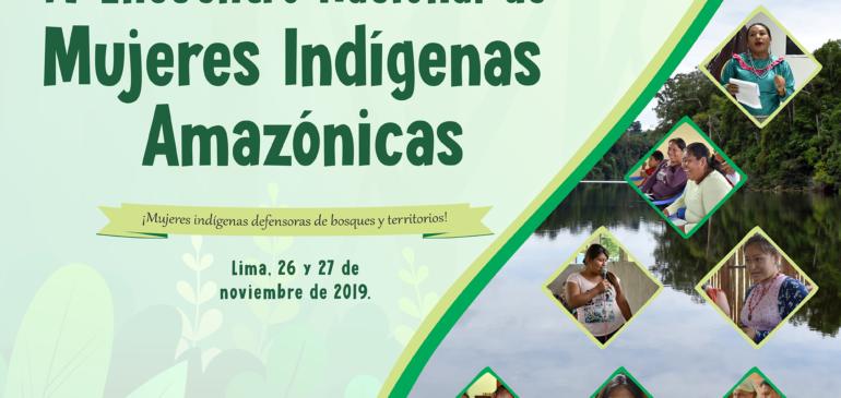 Nos preparamos para el IV Encuentro Nacional de Mujeres Indígenas Amazónicas