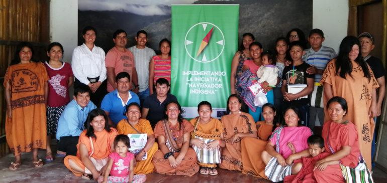 Selva Central: ONAMIAP realiza taller sobre ODS y Navegador Indígena con CARE
