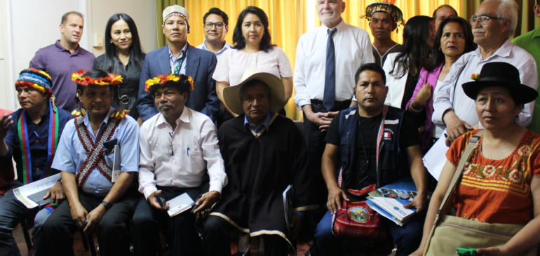 Relator de la ONU recogió información sobre situación de defensoras y defensores de derechos humanos en Perú