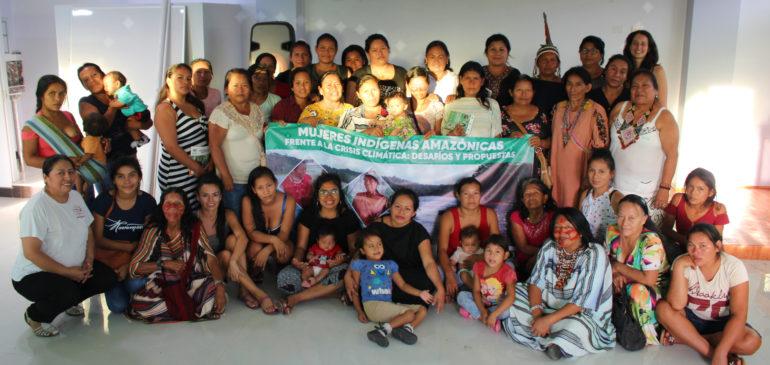 Atalaya: Desafíos y propuestas de las mujeres indígenas amazónicas frente a la crisis climática