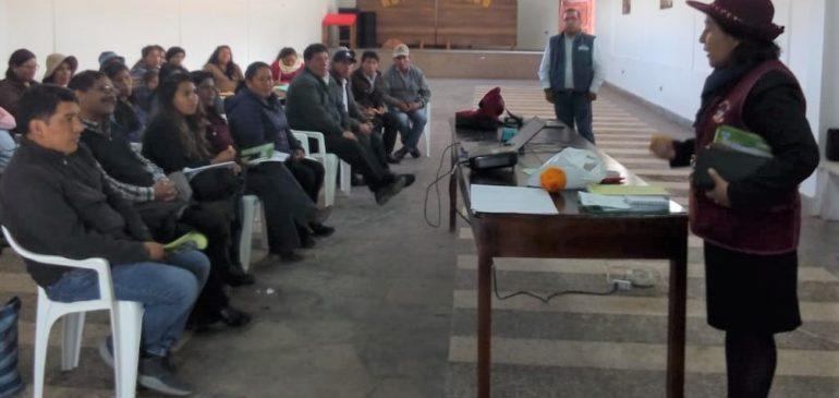 Realizamos la primera réplica de nuestra Escuela Itinerante en Derechos Indígenas en Cusco y Apurímac