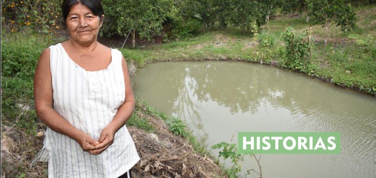 Zoila Aco y su crianza de peces: el caso de éxito que sorprende a la comunidad de San Pedro de Sotani en Selva Central