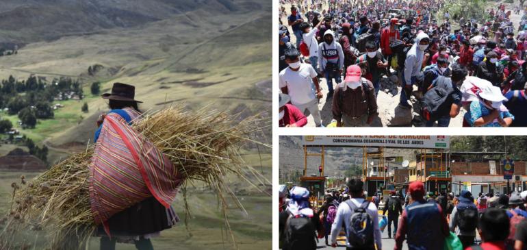 Pueblos indígenas andinos totalmente abandonados por el Estado en medio de la pandemia