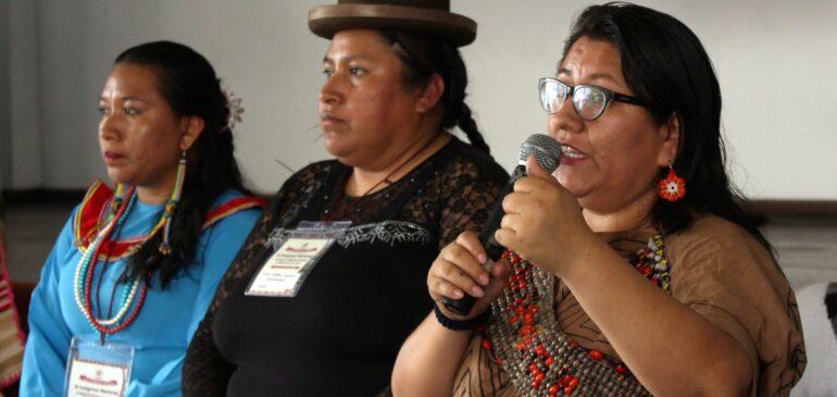 Las mujeres y pueblos indígenas seguiremos luchando por la ratificación del Acuerdo de Escazú