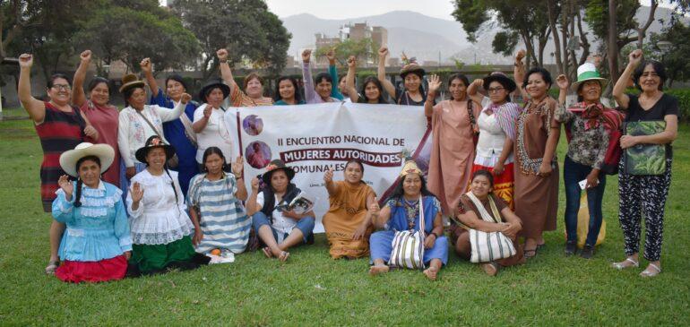 Mujeres y pueblos indígenas exigimos que el Estado respete nuestros derechos frente a la crisis climática