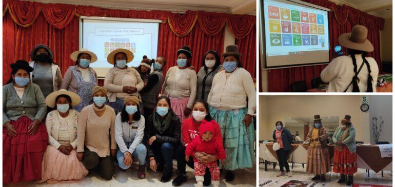 Hermanas quechuas y aymaras de Puno dialogan sobre los ODS frente al Bicentenario