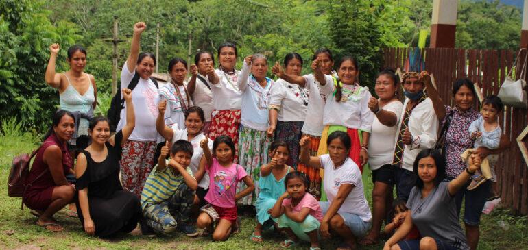 San Martín: Mujeres indígenas fortalecen sus capacidades para hacer frente al cambio climático