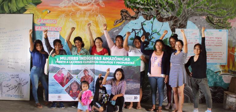 Madre de Dios: Hermanas de COHARYIMA se capacitan para hacer frente a los impactos del cambio climático