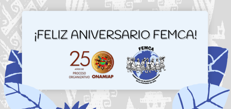 Feliz aniversario para FEMCA