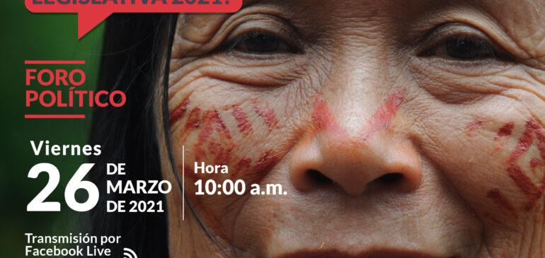 Mujeres indígenas expondrán su agenda legislativa a candidatas al Congreso