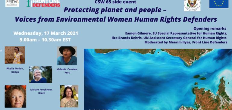 ONAMIAP presente en conversatorio internacional sobre defensoras de derechos