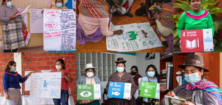 Mujeres quechuas, aymaras y shipibas dialogan sobre sus derechos y la implementación de las ODS