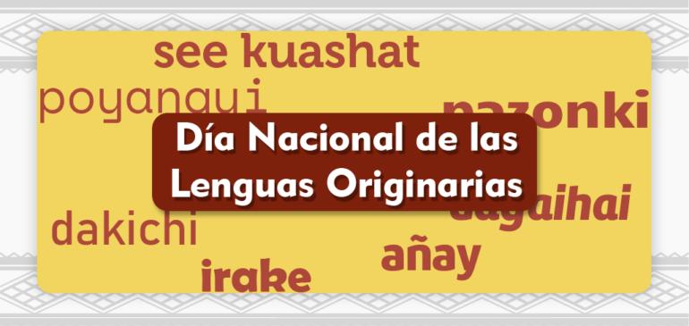 ONAMIAP en el Día Nacional de las Lenguas Originarias