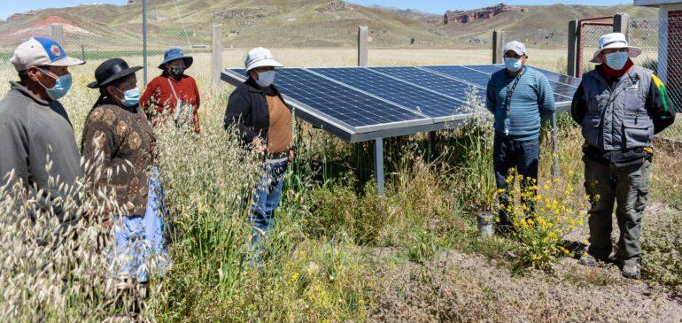 ONAMIAP desarrolla proyectos piloto comunales recuperando y revalorando las tecnologías y prácticas ancestrales