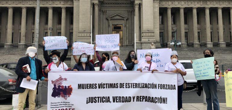 Juzgado Constitucional admite demanda de amparo de víctimas de esterilizaciones forzadas