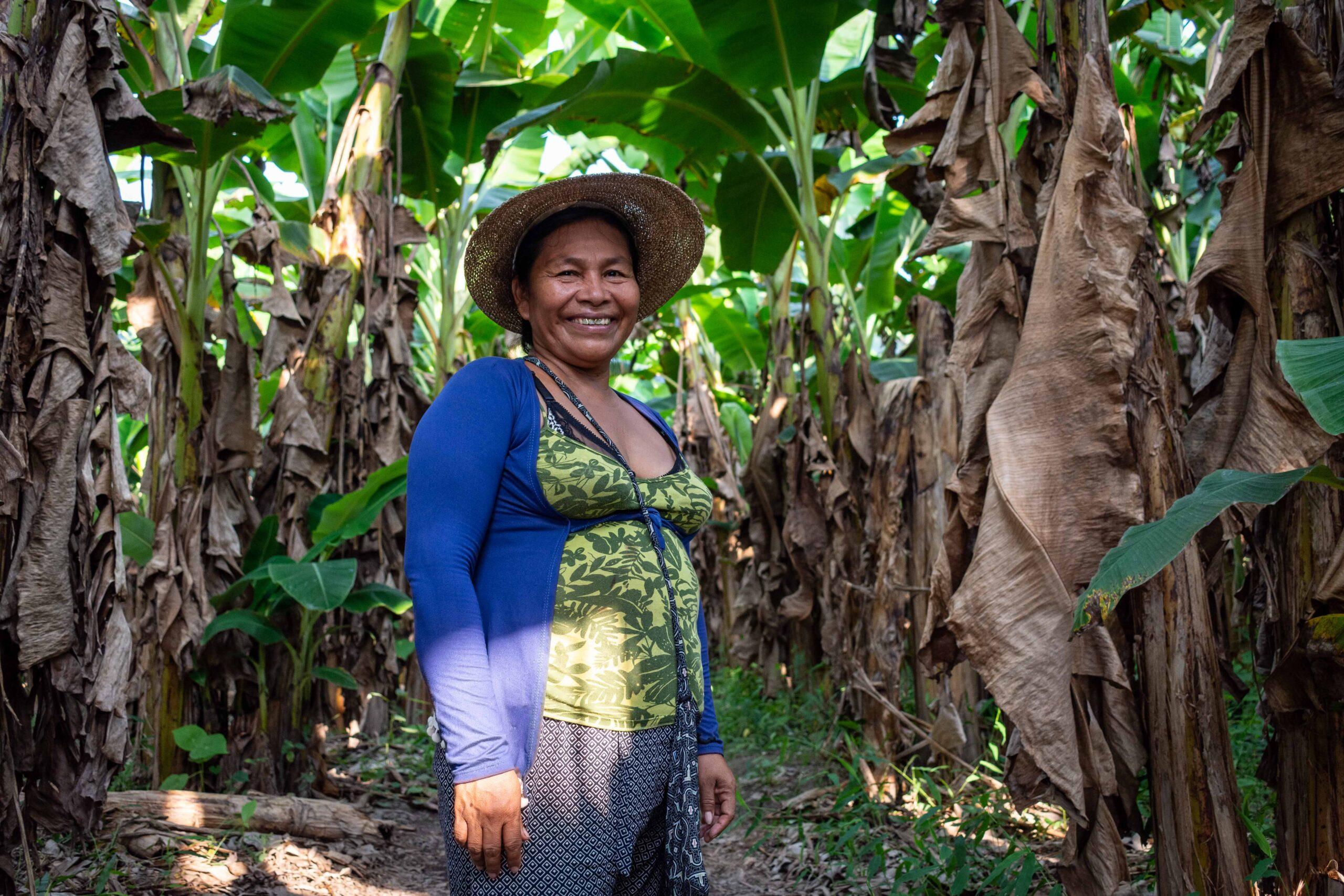 Por una reforma agraria integral, desde nosotras y con nosotras y cuidando a la Madre Tierra