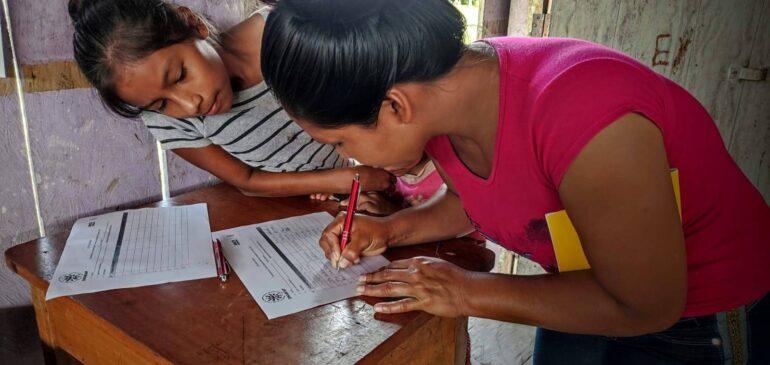 Mujeres jóvenes kukama fortalecen su identidad cultural